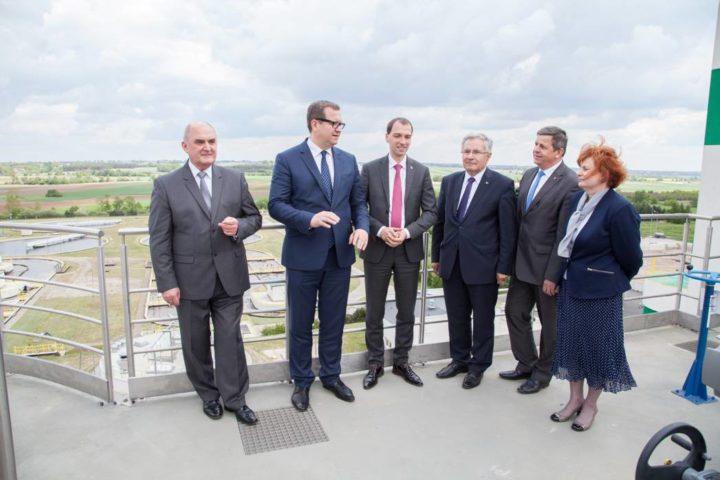 """Zakończenie inwestycji """"Modernizacja gospodarki osadowej, gazowej i energetycznej oczyszczalni ścieków w Kucharach"""""""