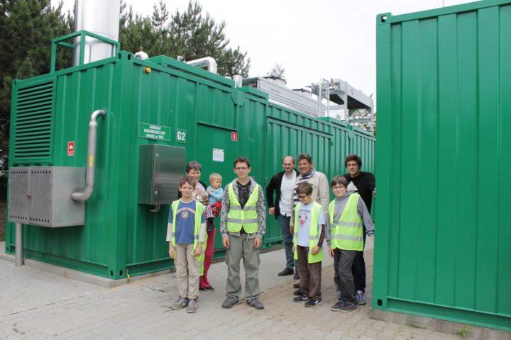 Wizyta sąsiadów – zwiedzanie oczyszczalni ścieków w Kucharach