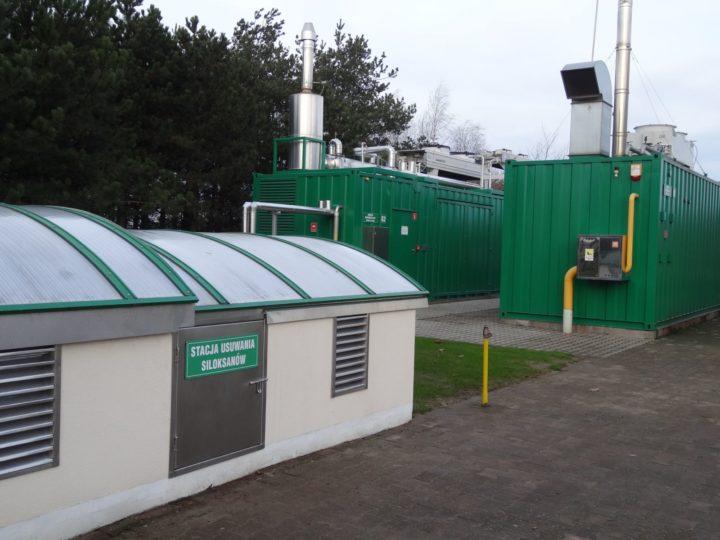 Stacja usuwania SILOKSANÓW z biogazu