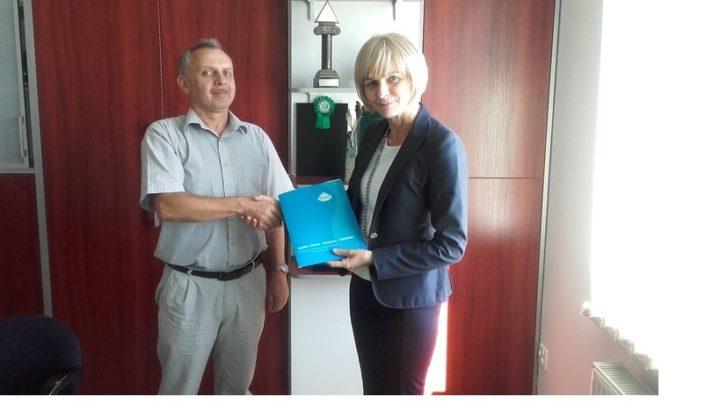 Podpisanie umowy dotyczącej rozbudowy części biologicznej oczyszczalni
